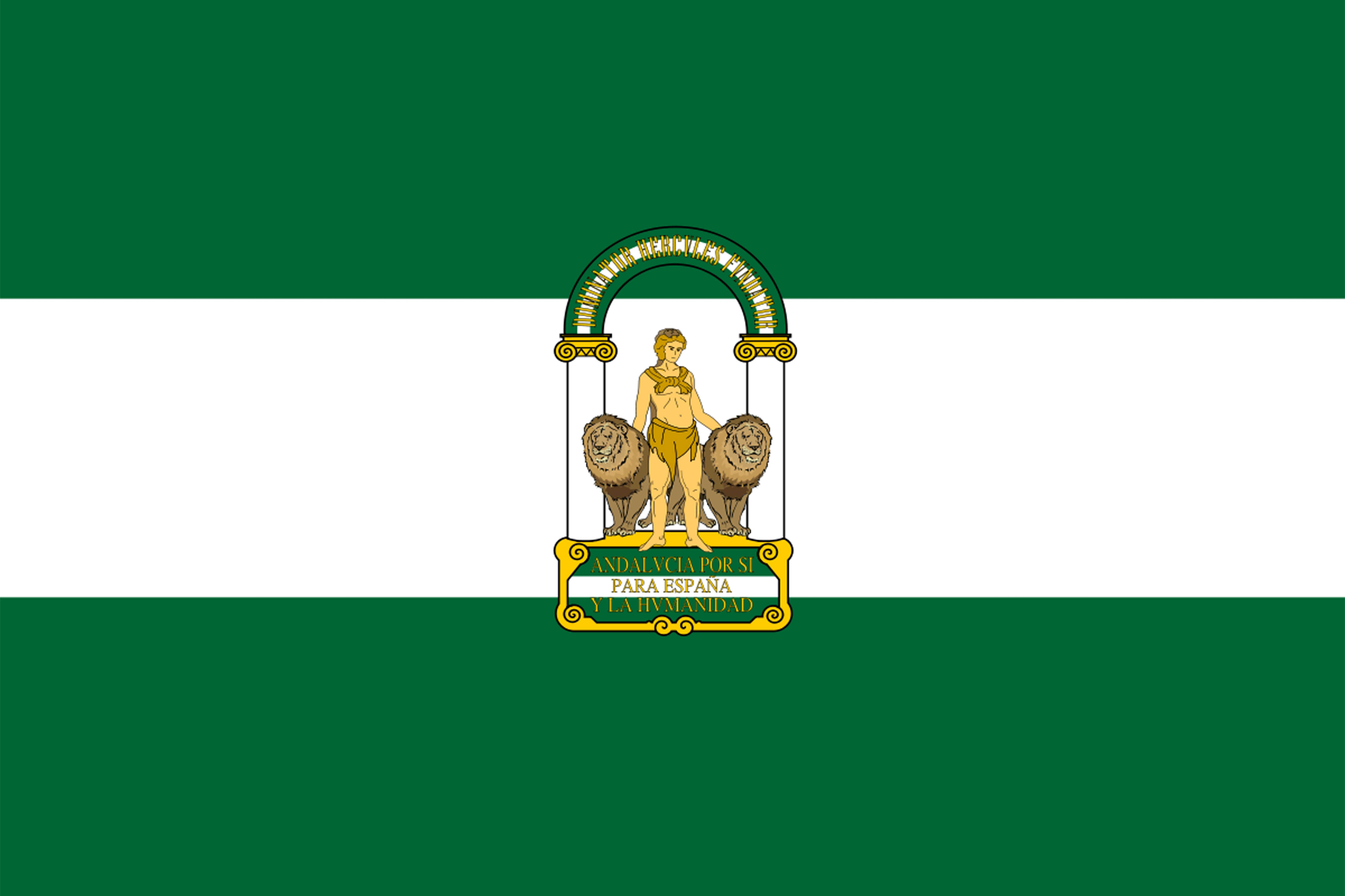 FLAGGE VON ANDALUSIEN<br />