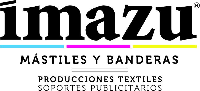 Logo de Imazu. fabricación y venta de banderas