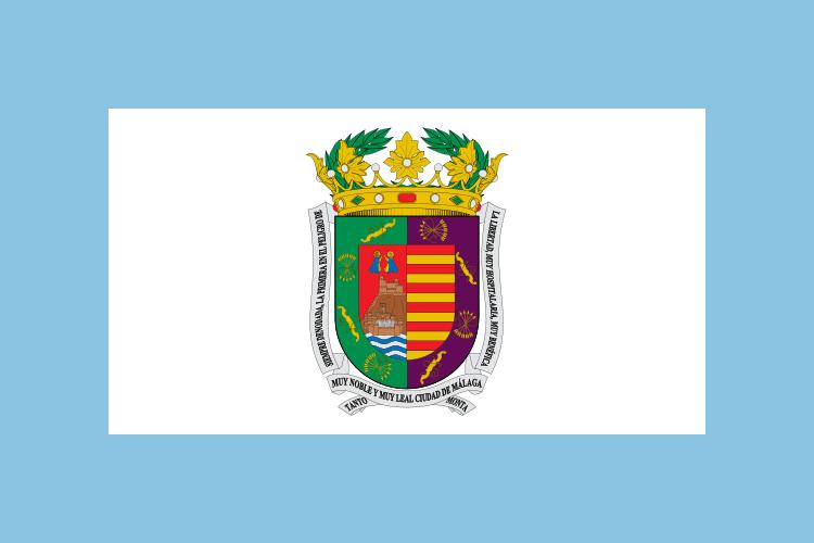 MÁLAGA FLAG