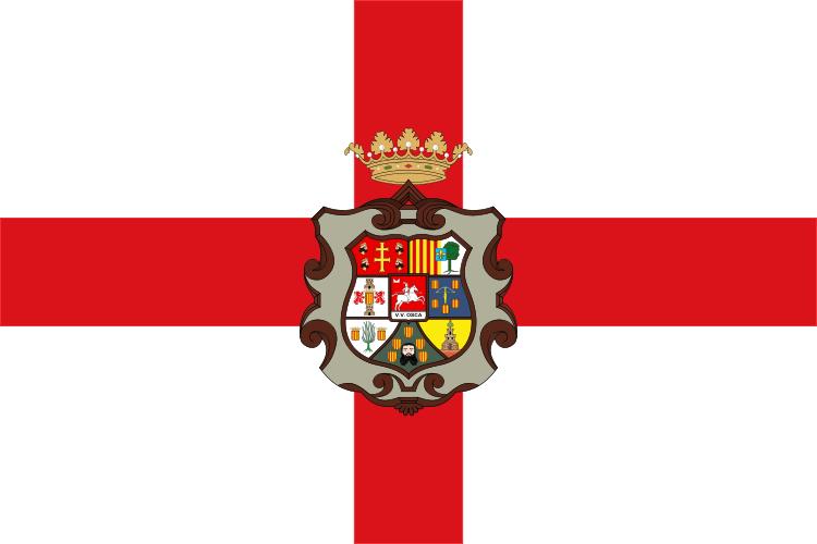FLAGGE VON HUESCA