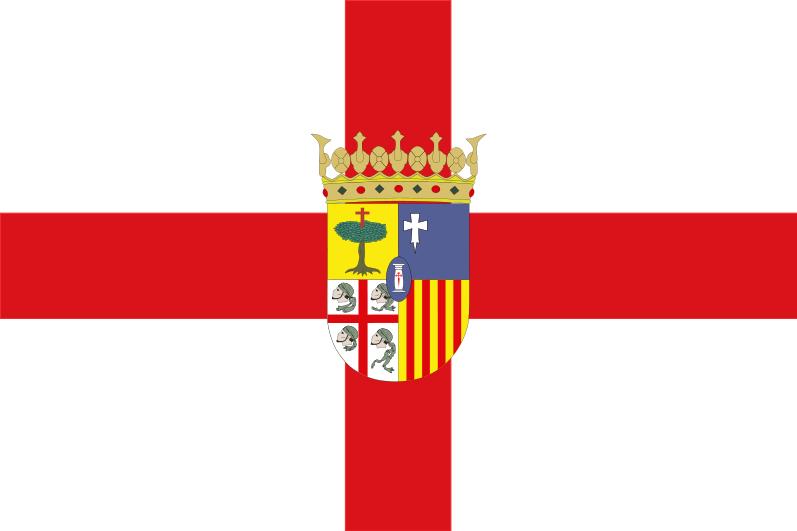 FLAGGE VON SARAGOSSA (ZARAGOZA)