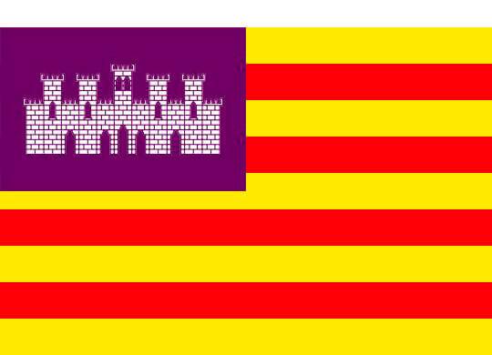 Las peculiaridades de las banderas de Islas Baleares.