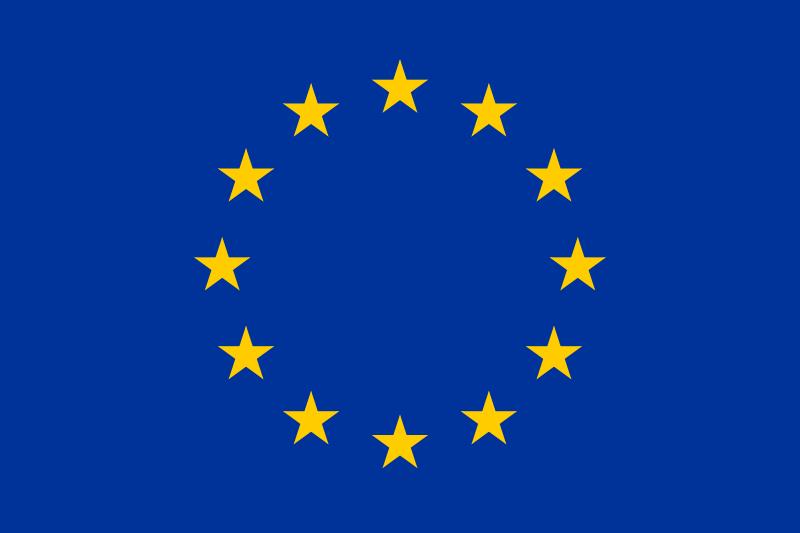La bandera de la Unión Europea: un símbolo intercultural.
