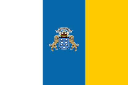 FLAGGE DER KANARISCHEN INSELN<br />