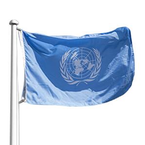 Bandera de Organizaciones, ONU