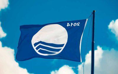 El significado de la bandera azul en las playas de España.