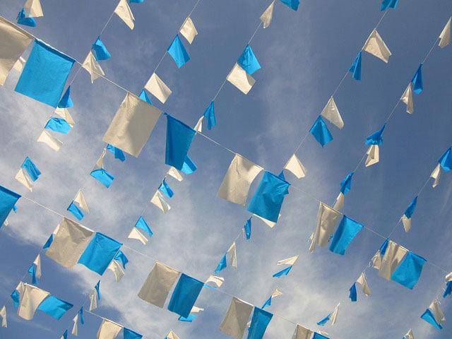 banderas de publicidad